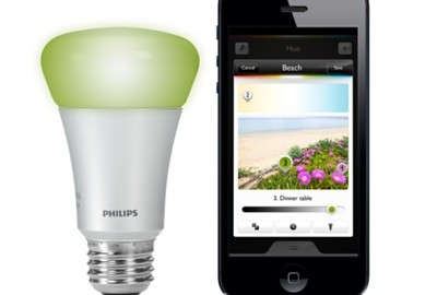 philips hue licht per app steuern. Black Bedroom Furniture Sets. Home Design Ideas